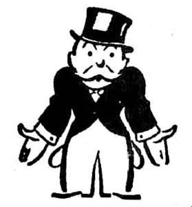 monopoly man